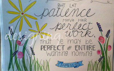 a step-by-step {patience}