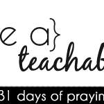 [day 6] PFYH: have a teachable spirit