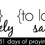 [day 7] PFYH: to lead wisely and love sacrificially