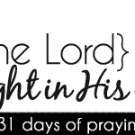 [day 2] PFYH: fear the Lord